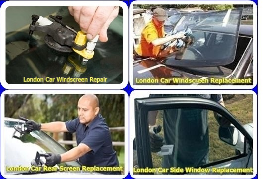 London car windscreen repair & replacement, Car door window glass replacement, and car rear screen replacement