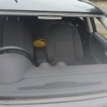 audi a3 front windscreen before replacement