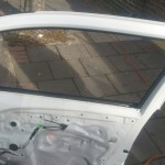 citroen c1 door glass replacement before photo