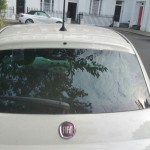 fiat 500 rear screen replacement after