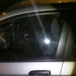 honda jazz front door glass replacement after photo