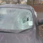 nissan juke dmaged front windscreen