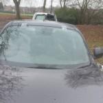nissan juke replaced front windscreen