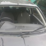 nissan micra 2009 front windscreen before replacement