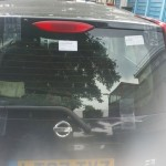 nissan note rear screen after replacement