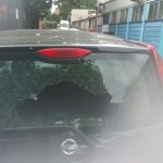 nissan note rear screen before replacement