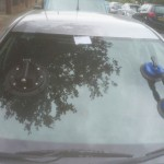 skoda fabi front windscreen replacement after photo