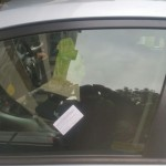 toyota auris front door glass replacement after photo