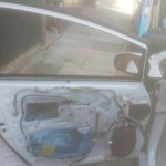 toyota prius front door glass before replacement