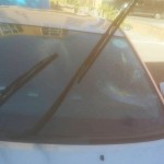 toyota prius windscreen after replacement