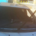 toyota prius windscreen before replacement