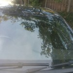 vauxhall astra front windscreen replacement after photo