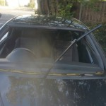 vauxhall astra front windscreen replacement before photo 2