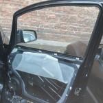 Vauxhall Zafira Door Glass Before Replacement